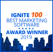 Lauréat du Meilleur Logiciel Marketing Ignite 100